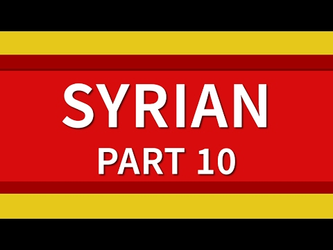 Learn Syrian Arabic 500 Phrases for Beginners Lesson 10 - Emergency terms