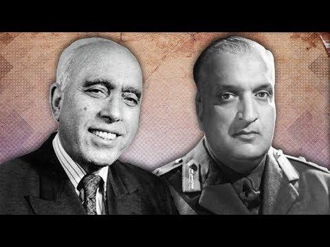 Kashmir rear video of sheikh Abdullah & Maharaja Hari Singh, A Disputed Land   British Pathé