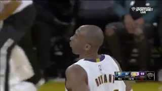 Kobe Bryant game-winner floater: Indiana Pacers at Los Angeles Lakers