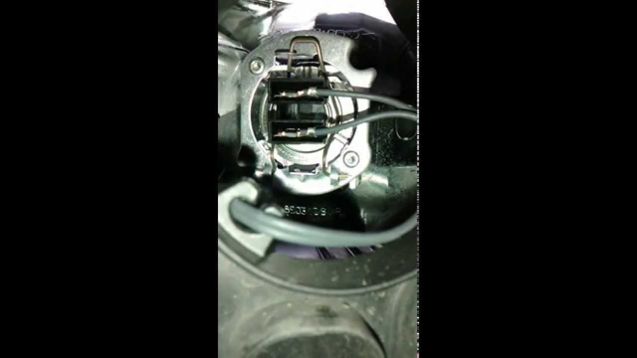 Citroen C3 Light Bulb Change