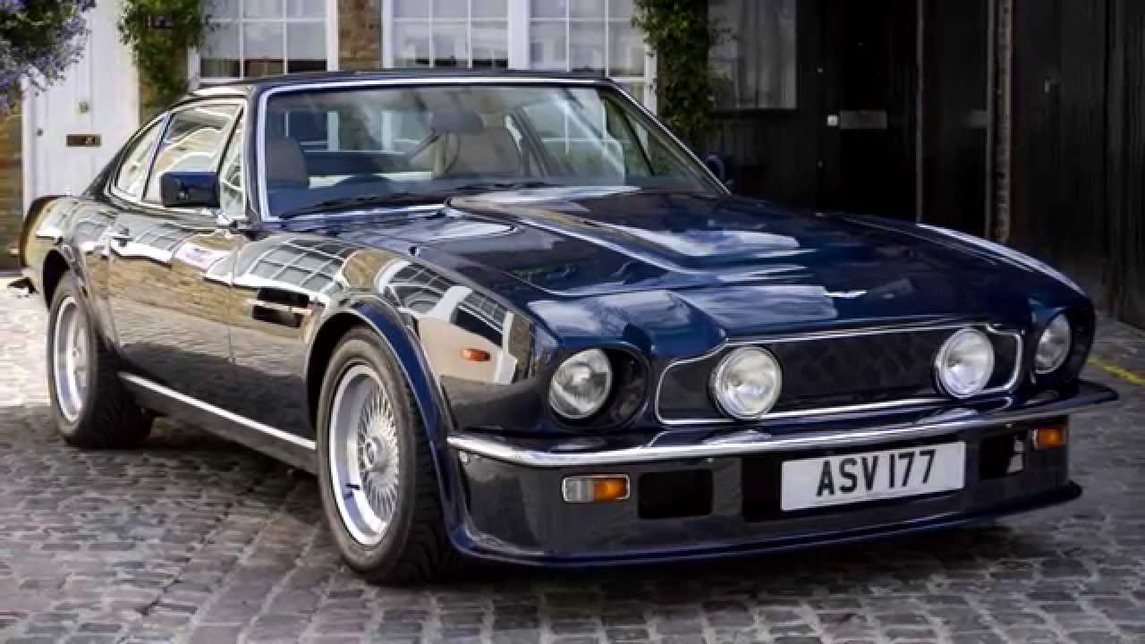 Aston Martin V Vantage V Manual Coupé Hexagon Classics - Classic aston martin
