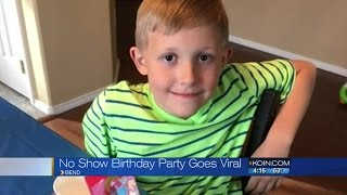 Disappointment becomes best birthday for Bend boy