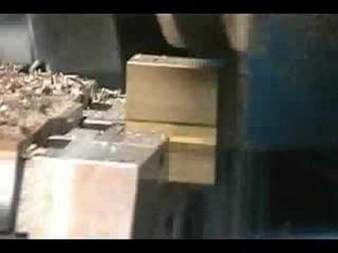 Webco Machine Tool - Mill (Rough Stock Removal, Close up)