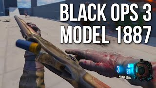 Model 1887 in Black Ops 3! (PC Mod Tools Preview)