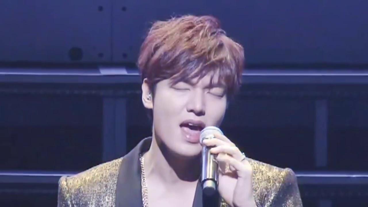 Lee Min Ho - Hati yang kau Sakiti (ORIGINAL), Nyanyi Lagu Indonesia!!!! Ku Menangis...