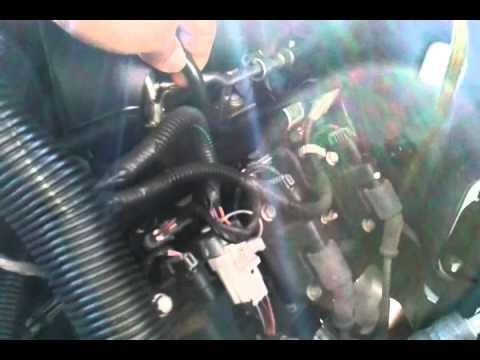 05 Chevy Tahoe Vaccum Line Location Youtube