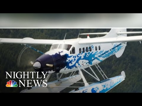 11 People Rescued After Plane Crashes In Alaska | NBC Nightly News
