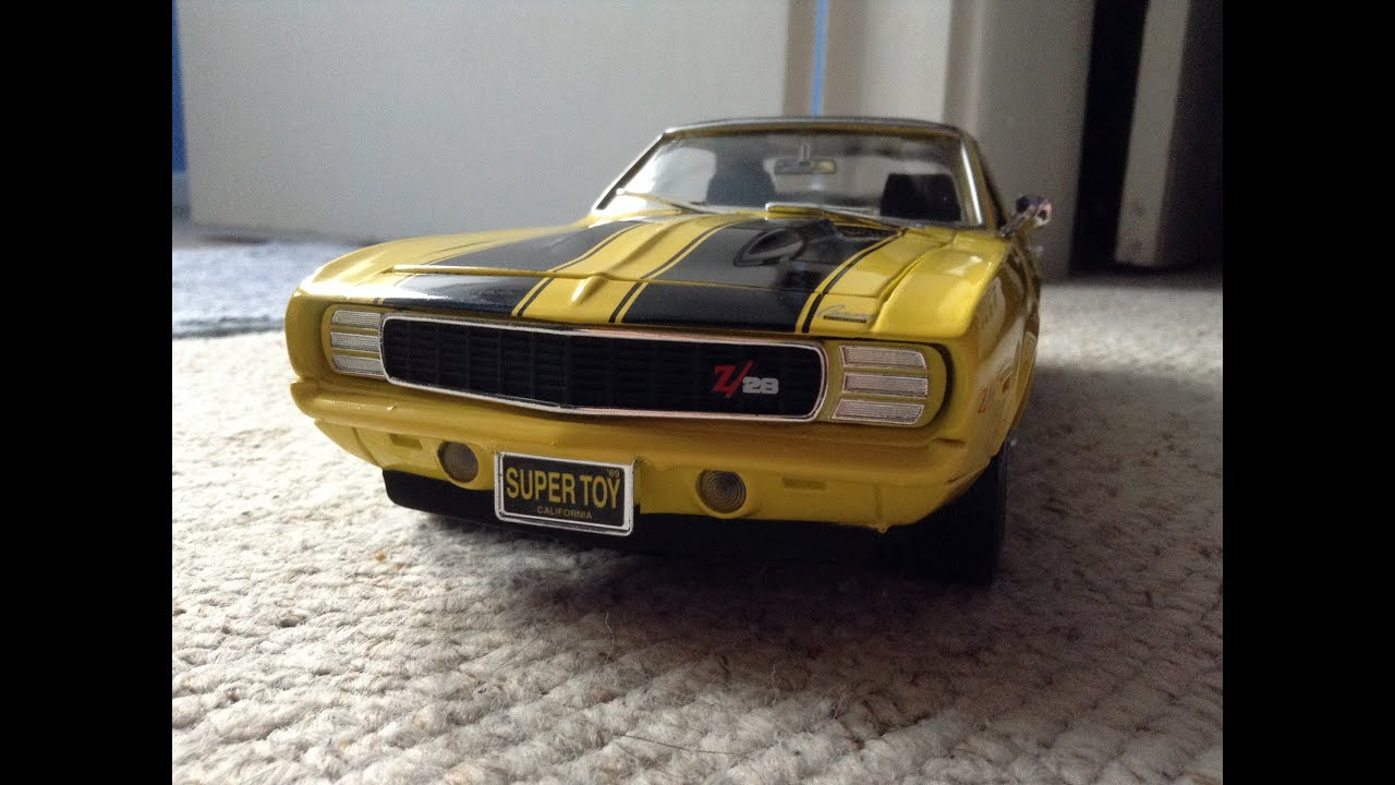 ERTL 69 Camaro Z28 RS YouTube