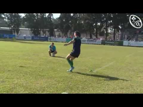Irish Rugby TV: Jonathan Sexton's Kicking Practice In Tucumán