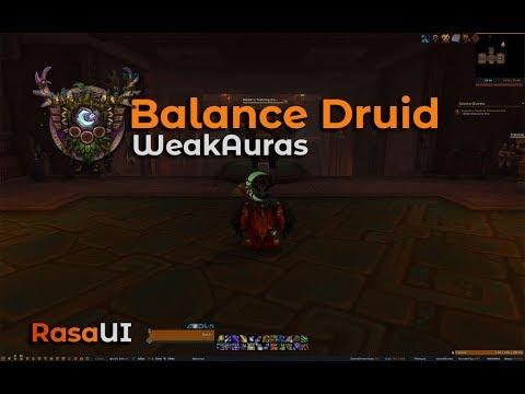Balance Druid WeakAuras [Battle for Azeroth]