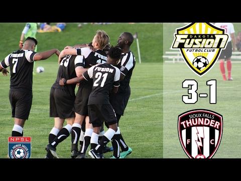 Dakota Fusion FC vs.  Sioux Falls Thunder (AWAY)