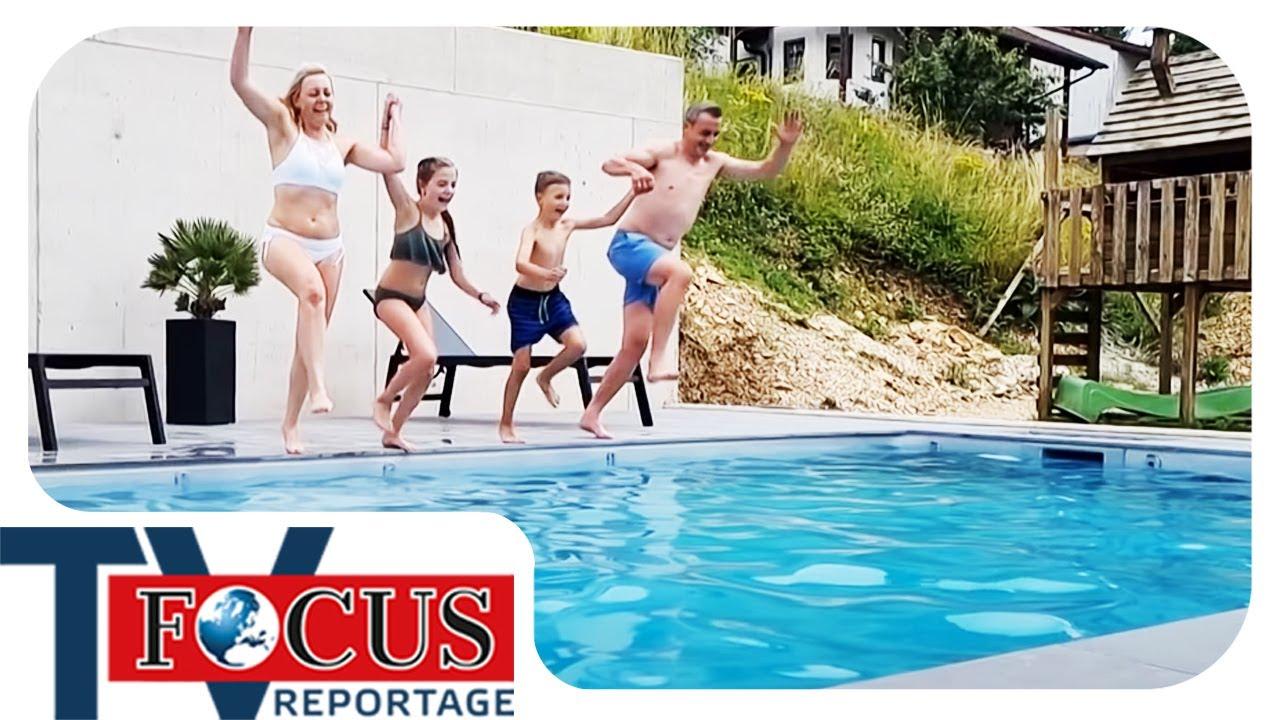 Download Der Traum vom eigenen Swimming Pool - Schuften für das eigene Paradies! | Focus TV Reportage