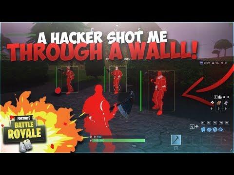 I Ran Into My First Fortnite Hacker - Hacker & Trap Win Gameplay
