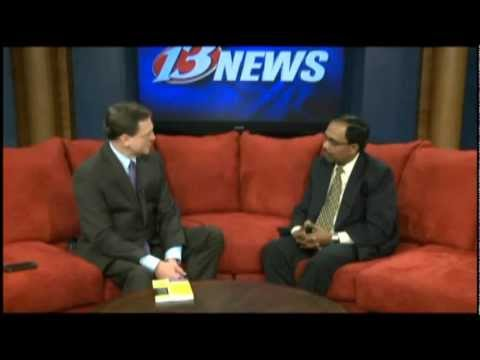 Dr. Challa author of Probiotics For Dummies on Channel 13