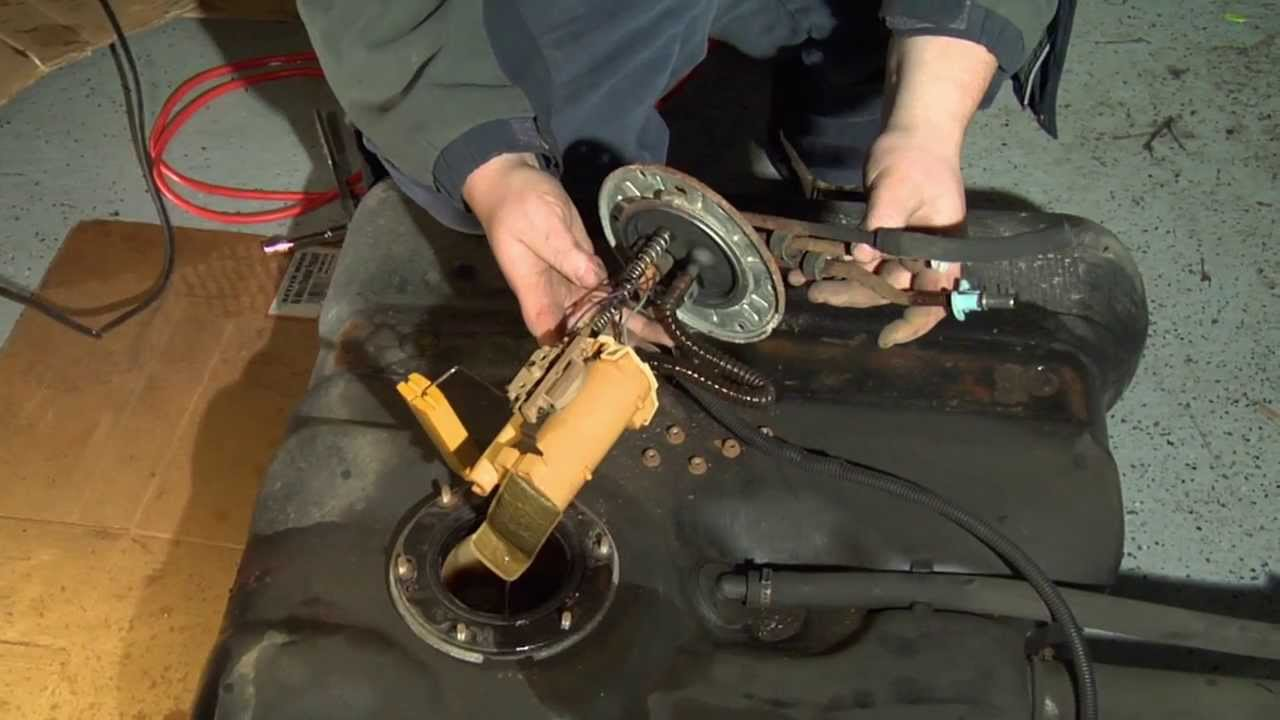 hight resolution of how to replace an automotive fuel pump 1 of 2