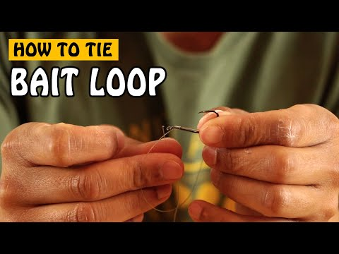HOW TO TIE A BAIT LOOP KNOT FOR SALMON AND STEELHEAD FISHING | Fishing With Rod
