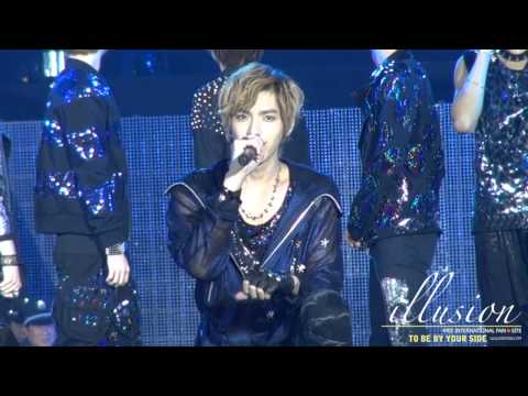 """[FANCAM]121028 Kris singing """"At Least I Have You"""""""