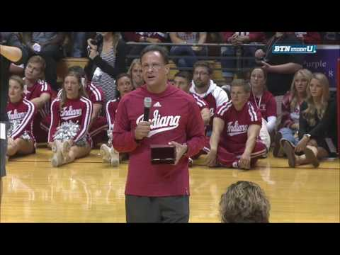 Tom Crean Hands Out Championship Rings