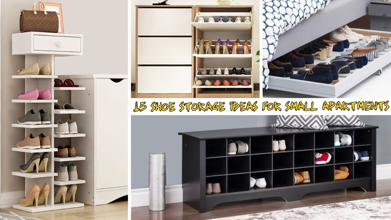 15 Shoe Storage Ideas For Small Apartments