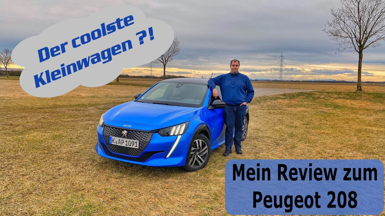 Peugeot 208 GT-line (2020) 100HP   4K POV Test Drive