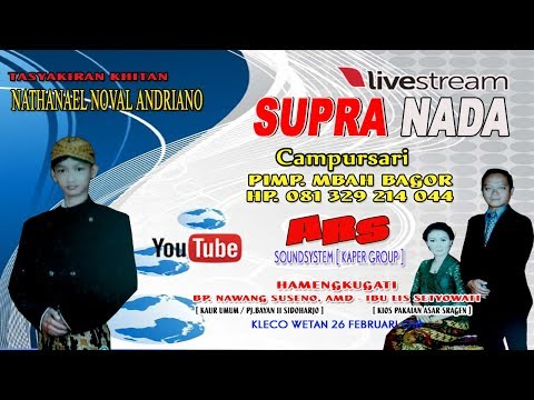 Live Streaming//SUPRA NADA//ARS ( KAPER ROUP )// DIAN PICTURES//LIVE KLECO - SIDOHARJO - SRAEN