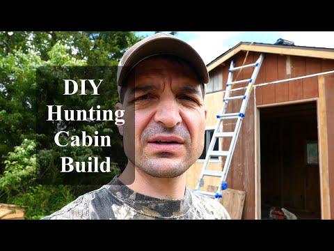DIY Hunting Cabin