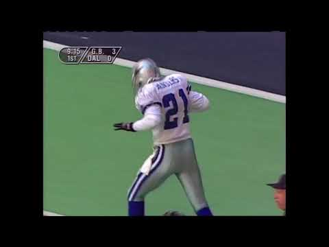Prime Time Deion Sanders High Stepping on Offense