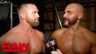 The Revival celebrate the end of Lucha House Rules: Raw Exclusive, Dec. 17, 2018