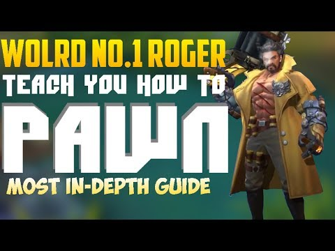 WORLD BEST ROGER teaches you HOW TO | Mobile Legends Roger In-Depth Guide