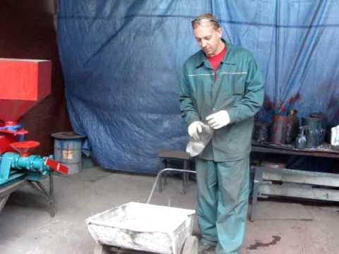 Подготовка экструдера к работе
