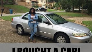 kd vlog 10  i bought my first car