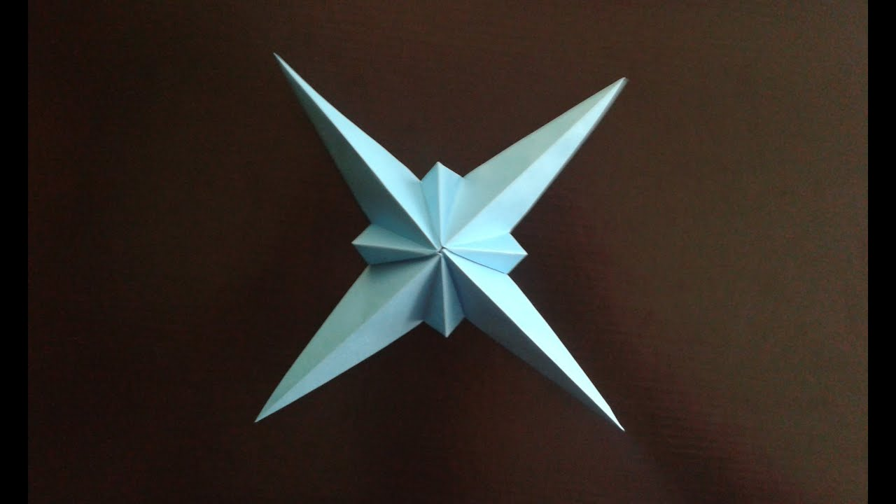 Origami ninja Star - YouTube - photo#45