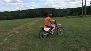 KID CRASHES HARD ON XR80