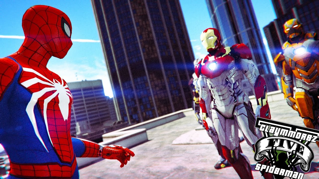 gta 5 spiderman mod download ps4
