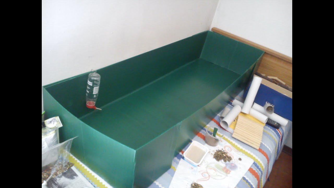 Come Costruire Una Cuccia diy: maxi box (polionda) - youtube
