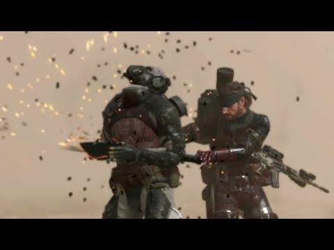 MGS 5 All Skulls Counter CQC Animation + Slow mo(Acceleramin)