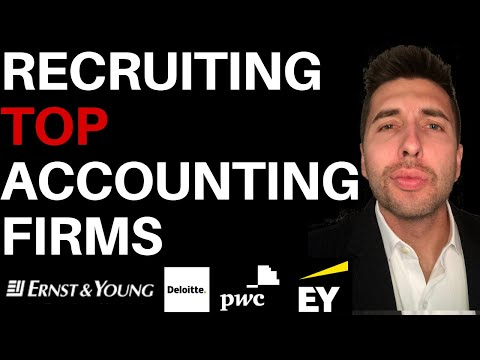 How to recruit top accounting firms - on a success fee basis (to make business acquisitions)