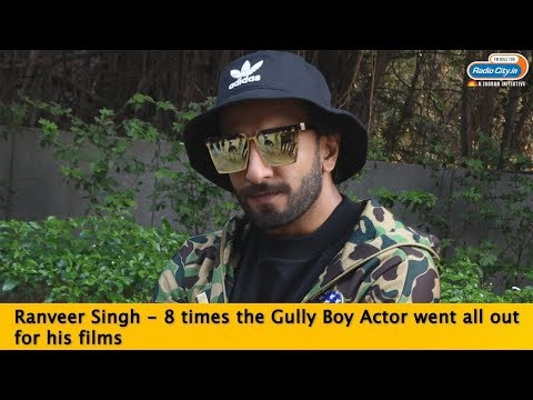 Ranveer Singh: 8 Times the Gully Boy actor went all out for his films Mp3
