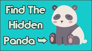 Only 1% Can Find The Hidden Panda Immediately