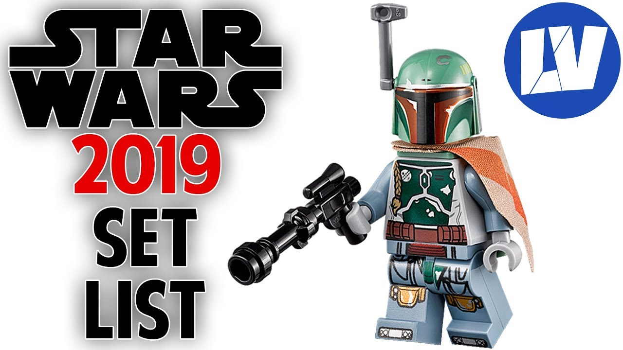 Lego Star War 2019 Full Set List Youtube