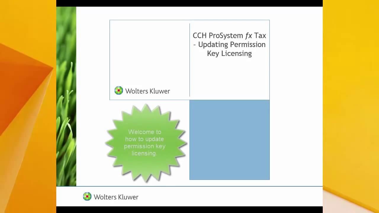 CCH PROSYSTEM PROFIT DRIVER PC