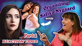 Professional Organizer REACTS to: SAFIYA NYGAARD'S Closet Organization