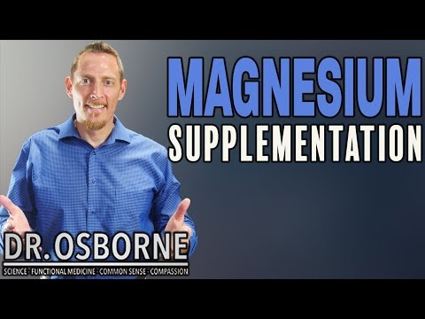 Magnesium Supplementation -  What Are The Best Forms And How Much Should You Take