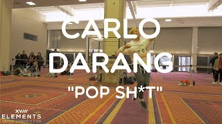 Carlo Darang - Pop Sh*t | ELEMENTS XVIII Workshops @carlodarang