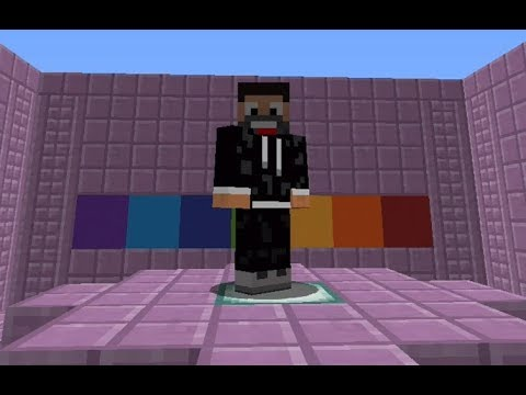 FIND THE BUTTON RAINBOW - Minecraft