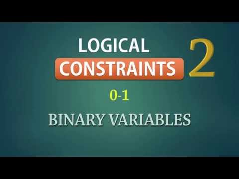 Integer Linear Programming | 0-1 Binary Constraints | Examples  - Part 2
