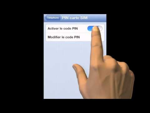 MyiBlog.fr - Changer le code PIN de votre carte SIM avec un iPhone (SC-20130307-01) - YouTube