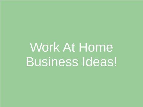 work-at-home-business-ideas---start-make-money-now!