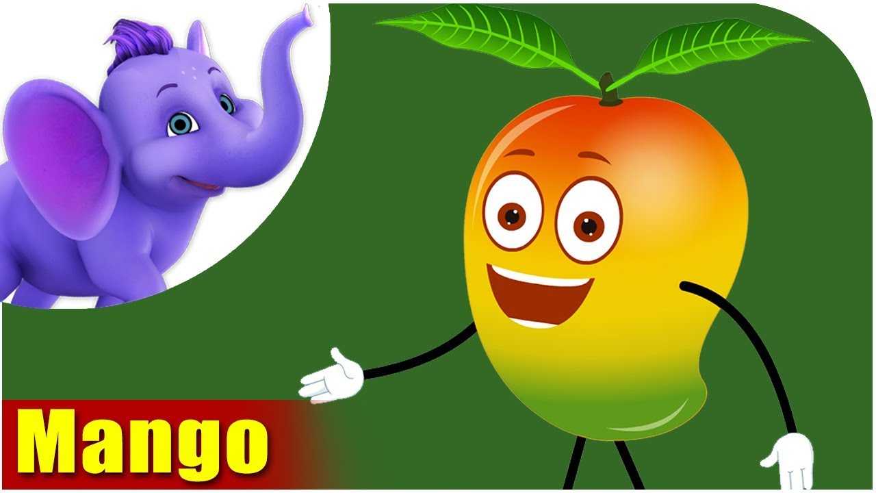 Cute Colour Wallpaper Aamba Mango Fruit Rhyme In Marathi Youtube