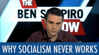 Why Socialism Never Works